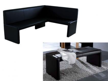 Standard Furniture Polsterbank Berlin Eckbank oder Einzelbank Polsterbank für Esszimmer und Küche Bank im Bezug Elektra und Ausführung wählbar - Vorschau 2