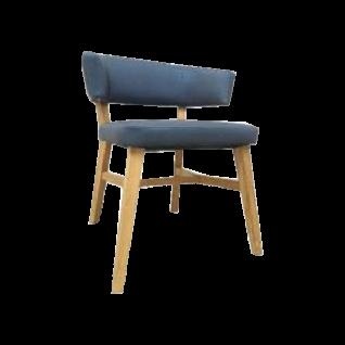 DKK Klose Stuhl S77 in wählbarer Gestell-und Bezugsausführung mit optional erhältlichem Griff ideal für Ihr Esszimmer