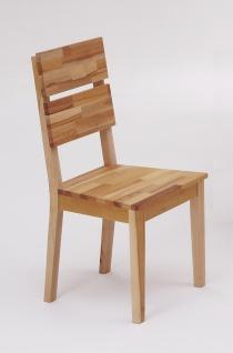 ELFO 2er Set Stuhl Dora-G in Kernbuche massiv geölt für Ihr Speisezimmer oder Esszimmer