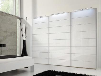 Nolte Marcato Schwebetürenschrank Kleiderschrank Ausführung 4 Korpus, Glasfrontvarianten wählbar