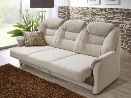 Dietsch Sytema Kiel 3 Sitzer Sofa 13268 mit Sitzvorzug Bezug Stoff oder Leder wählbar