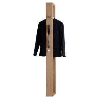 Mäusbacher Frame Garderobenpaneel 0900-G_172 mit Kleiderstange und Garderobenhaken für Ihre Garderobe und Eingangsbereich im Dekor Asteiche Nachbildung