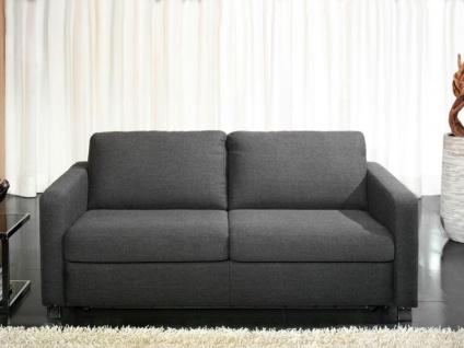 Candy Couch all-round 2-Sitzer oder 3-Sitzer Schlaffunktion Bettfunktion ideal für Ferienwohnung Armlehne Füße und Bezug