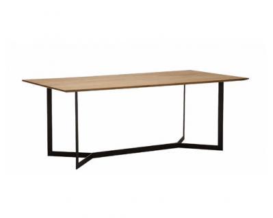 K+W Möbel Silaxx Esstisch fix 5134 Massivholz oder Glas für Esszimmer Ausführung wählbar