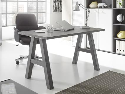 Mäusbacher Mister Office Schreibtisch mit wählbarer Gestellform Tischplattengröße und mit wählbarem Dekor für Tischplatte und Gestell Schreibtisch für Ihr Arbeitszimmer Büro oder Homeoffice - Vorschau 3