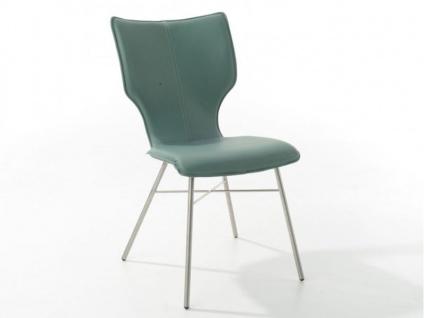 Bert Plantagie Stuhl Joni Four 712 mit Uni-Polsterung Polsterstuhl für Esszimmer Esszimmerstuhl Gestellausführung und Bezug in Leder oder Stoff wählbar