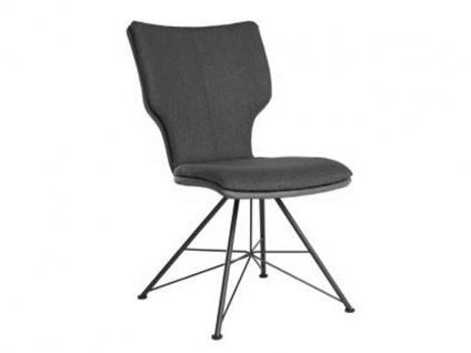 Bert Plantagie Stuhl Joni 713C Komfort Spin mit Uni-Mattenpolsterung Polsterstuhl für Esszimmer Esszimmerstuhl Gestellausführung und Bezug in Leder oder Stoff wählbar