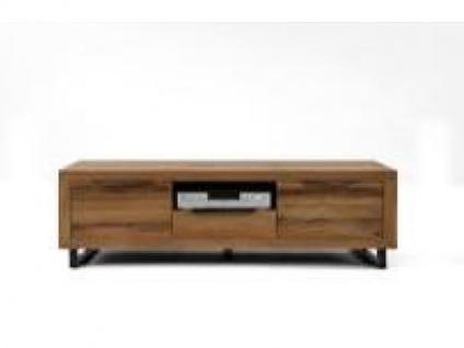 Bodahl Manhattan TV-Bank 10257 rustic oak Massivholz Kommode mit einem Schubkasten und zwei Türen für Wohnzimmer und Esszimmer in sieben Ausführungen wählbar