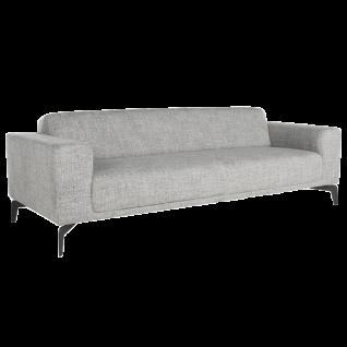 Bert Plantagie Sofa Tixer mit durchgehender Sitzfläche Bezug in Stoff oder Leder und Größe wählbar