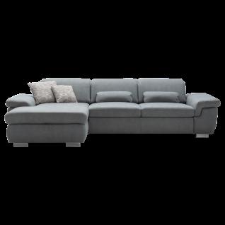 Megapol Eckkombination MP-IN17041 Antaris mit Sitztiefenverstellung für komfortables Sitzen und Entspannen