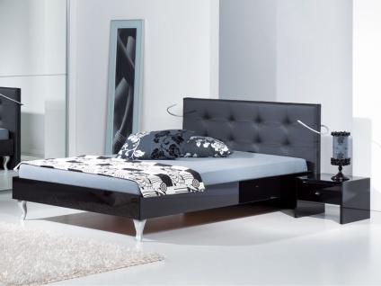 Neue Modular Genua Bett mit Kopfteil Ancona und Füße Palazzo Liegefläche 180x200 cm