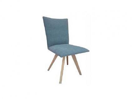 DKK Klose Stuhl S71 mit Schaumstoffpolsterung im Sitz und Rücken für Wohnzimmer oder Küche Gestellausführung und Bezug wählbar