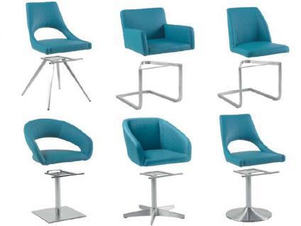 MWA Aktuell Stuhlsystem London Stuhl gepolstert mit wählbaren Gestell- und Bezugsausführungen