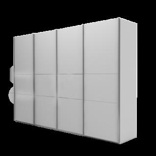 Nolte Möbel Marcato 2.4 Schwebetüren-Panoramaschrank Ausführung 4A mit 4 waagerechten Sprossen Farbausführung und Schrankgröße wählbar