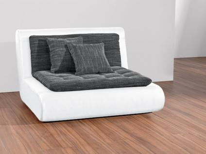 New Look Sessel EXIT- I, zweifarbige Bezugsauswahl möglich, inkl. 2 Kuschelkissen (Bezug wie Sitz-/ Rückenauflage)