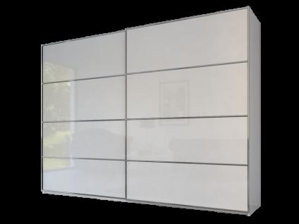 Rauch Steffen Linea Concept 20up Schwebetürenschrank Front 2B mit Frontdekor in Matt-Optik Spiegel oder Glas Schrankbreite Schrankhöhe und Farbausführung wählbar