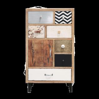 online@more by Niehoff Mango Highboard als handgefertigtes Einzelstück aus Mango Massivholz für Ihren Wohn- und Essbereich