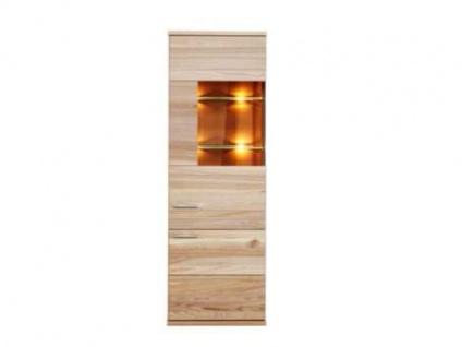 Dkk Klose Kastenmöbel K5 Vitrine 1-teilig für Esszimmer oder Wohnzimmer Massivholz in vielen Ausführungen Türanschlag links oder rechts wählbar Beleuchtung optional