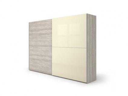 Nolte Möbel concept me 310 Schwebetürenschrank mit einer waagerechten Türsprosse Ausführung 1