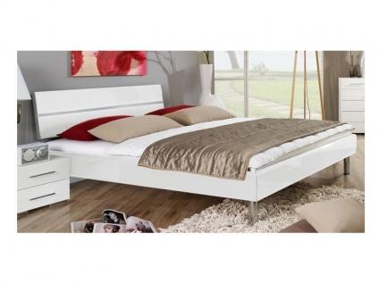 Rauch Select MAVI-Plus Bettrahmen Kopfteil Hochglanz Relaxhöhe MAVI PLUS Bett Füsse Größe und Ausführung wählbar