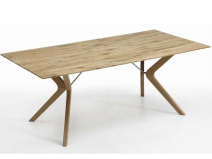 Niehoff Bozen Essgruppe 7-teilig bestehend aus Design-Tafel 6943 und sechs Design Polsterstühlen 4561 für Speisezimmer, Küche oder Wohnzimmer - Vorschau 3