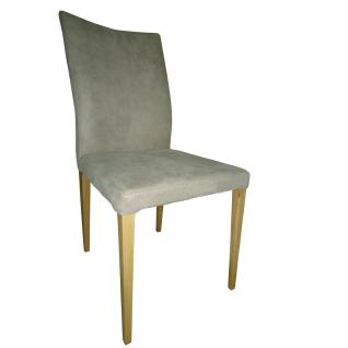 DKK Klose S64 Stuhl 640112 Vierfußgestell in fünf Hölzern wählbar Polsterstuhl mit drei wählbaren Sitzschalenvarianten Suhl für Wohnzimmer und Esszimmer Bezug in Stoff oder Leder - Vorschau 1