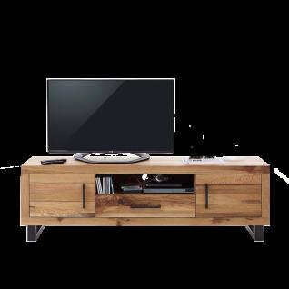 Bodahl NATURE 10773 TV-Board mit Türen Massivholz Balkeneiche Öl Finish Lowboard