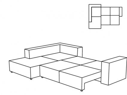 Tom Tailor Ecksofa Größe XL Heaven COLORS Casual, inklusive Kissenset Größe XL, optional mit Bettkasten und Bettfunktion wählbar - Vorschau 3
