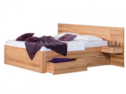 Neue Modular Primolar Bett Parma mit Kopfteil Sassari und Bettkastenfunktion Liegefläche ca. 180x200 cm optional mit Nachttischen