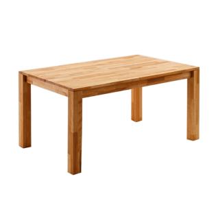 MCA Furniture Paul 06627KB1 in der Ausführung Kernbuche geölt Mittelauszug Massivholz Esstisch für Ihr Wohnzimmer