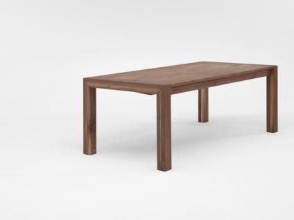 Niehoff Felix M203 Linea Dining Time Plantisch maßgeschneiderter Esstisch mit fester Platte Massivholz Ausführung wählbar