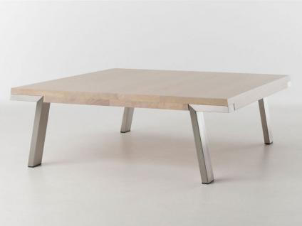 Bert Plantagie Couchtisch Seven passend zum Esstisch Seven Tisch für Wohnzimmer Tischplattenausführung Gestellausführung und Größe wählbar - Vorschau 2
