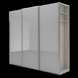 Nolte Möbel Marcato 2.4 Schwebetürenschrank Ausführung 4A mit 4 waagerechten Sprossen und 20er-Außenregal Schrankgröße sowie Farbausführung frei konfigurierbar