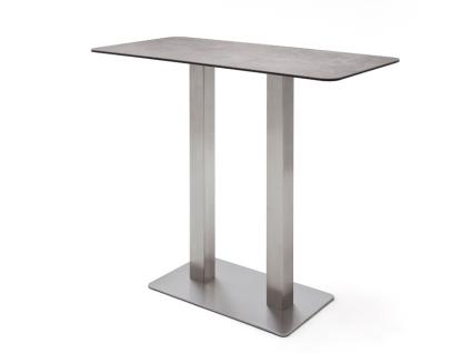 MCA furniture Bartisch Zarina Tischplatte wählbar 120 x 60 cm für Esszimmer Wohnzimmer oder Küche