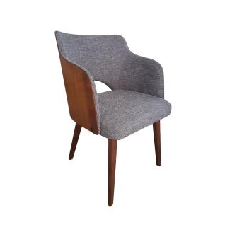 DKK Klose Sessel S85 mit Polsterung im Sitz und Rücken wählbar Füße in wählbarem Massivholz ideal für Ihr Esszimmer