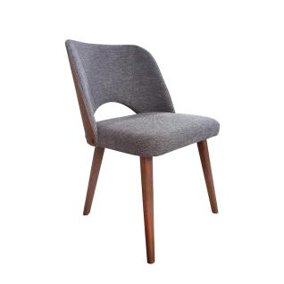 DKK Klose Stuhl S85 mit Polsterung im Sitz und Rücken wählbar Füße in wählbarem Massivholz ideal für Ihr Esszimmer
