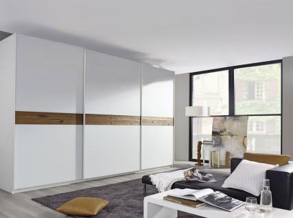 Rauch Select Bayamo Schwebetürenschrank Kleiderschrank für Schlafzimmer mit Fronteinlage Ausführungen Dekor wählbar
