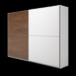 Nolte Möbel Concept Me 310 Schwebetürenschrank mit einer waagerechten Türsprosse Ausführung 1 in Dekor ohne Regal