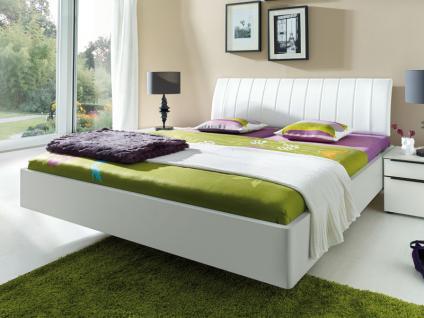 Nolte Sonyo Bett Einzelbett oder Doppelbett Bettrahmenausführung, Polster-Kopfteil wählbar in schwebender Optik