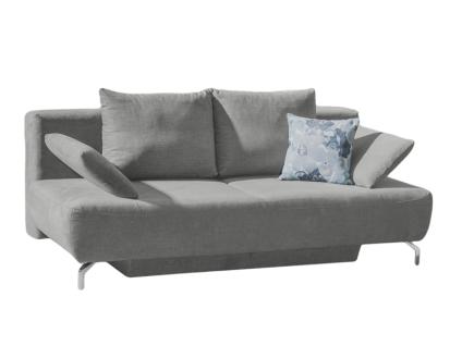 Restyl Andora Funktionssofa Wendy in umfangreicher Stoffauswahl erhältlich ausziehbarer 2-Sitzer ca. 150 x 200 cm mit geräumigen Bettkasten und wählbaren Armteilkissen
