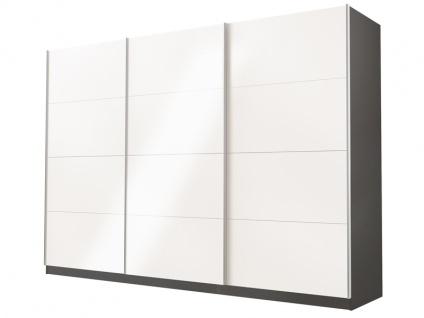 Rauch Select Beluga-Plus Schwebetürenschrank Variante B Kleiderschrank Größe und Ausführung wählbar