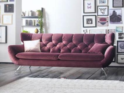 Candy Wohnlandschaft Einzelsofa Sofa Sixty für Wohnzimmer Bezug Stoff oder Leder wählbar