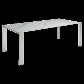 Bridge Esstisch mit Keramik-Tischplatte von Bert Plantagie für Esszimmer Tischplatten sowie Gestellausführung und Größe wählbar