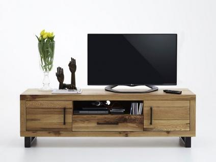 Bodahl Nature TV-Bank rustic oak mit Schublade und zwei Türen Massivholz TV-Schrank 10773 für Wohnzimmer in sieben Ausführungen wählbar