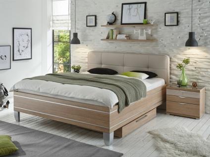 Staud Sinfonie Plus Bett in Luxushöhe mit Fußteil 7 inkl. Kopfteil Royal Liegefläche wählbar