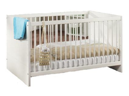 kinderbett wei 70x140 online bestellen bei yatego. Black Bedroom Furniture Sets. Home Design Ideas