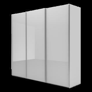 Nolte Möbel Marcato 2.1 Schwebetürenschrank Ausführung 1 ohne Sprossen Korpus in Dekor und Front in Glas Farbausführung und Schrankgröße wählbar