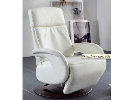 Steinpol Polsteria Derby Style TV-Sessel Drehsessel Relaxsessel mit manueller oder motorischer Verstellung in Stoff oder Leder Ausführung wählbar