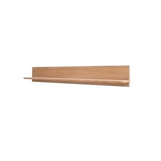 MCA Furniture Portland Wandboard POR17T50 für Ihr Wohnzimmer oder Esszimmer Wandpaneel mit mit einem Boden in Asteiche bianco