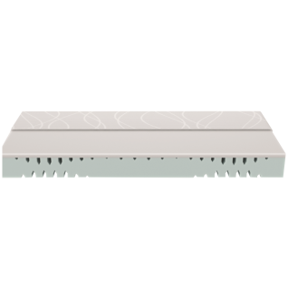 Schlaraffia myNap Kaltschaummatratze Rollpack Gesamtmatratzenhöhe ca. 18, 5 cm Härtegrad hart Liegefläche wählbar